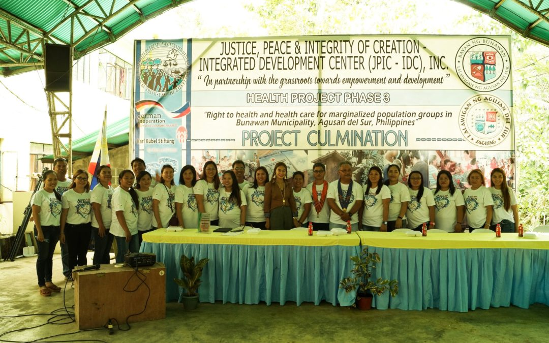 Agusan Health Project Phase 3 Culmination Activity